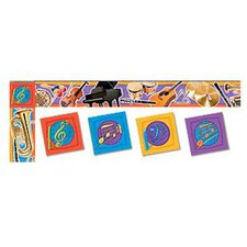 Musical Instruments Trimmer Classroom Border (Set of 2)