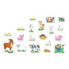 Farm Animals Bulletin Board Cut Out