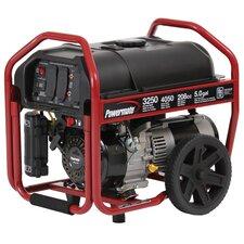 3250 Watt Portable Gasoline Generator with Manual Start