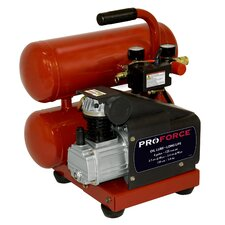 4 Gallon Proforce Oil Lubed Air Compressor with Extra Value Kit