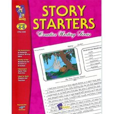 Story Starters Grade 4-6 Book