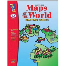 Outline Maps of The World Book