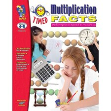 Timed Multiplication Facts Book