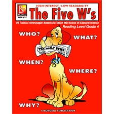 The 5 Ws 4th Grade Reading Level Book