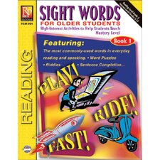 Sight Words for Older Students Book