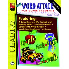 Word Attack for Older Students Book