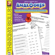 Critical Thinking Skills Analogies Book