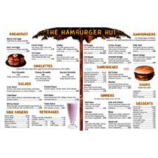 Menu Math Hamburger Hut Extra Educational Tool