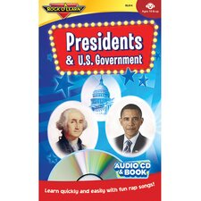 Presidents & Us Government Cd/bk