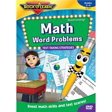 Math Word Problems Test Taking CD