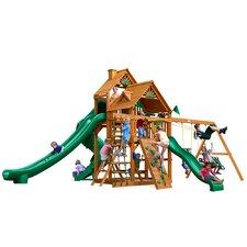 Great Skye II with Amber Posts Cedar Swing Set