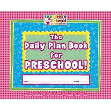 The Daily Plan Book for Preschool Lesson Planner