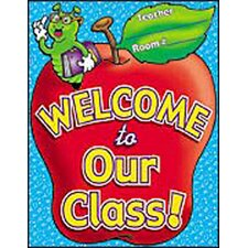 Chart Welcome To Our Class Poster (Set of 3)