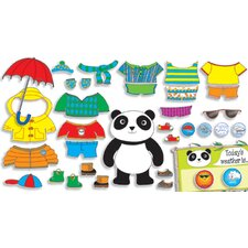 Weather Panda Bulletin Board Cut Out