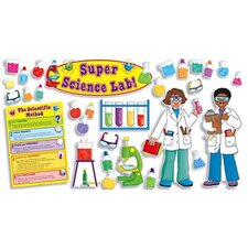 Super Science Lab Bulletin Board Cut Out