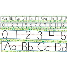 Standard Manuscript Letters and Numbers