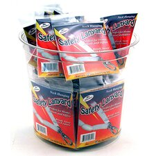 Safety Lanyard Carded (Set of 4)