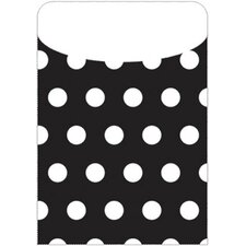Brite Pockets Polka Dots 25/bag File Folder