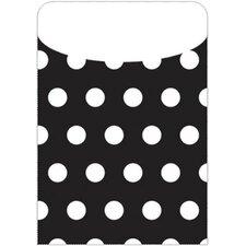 Brite Pockets Polka Dots 35/bag File Folder