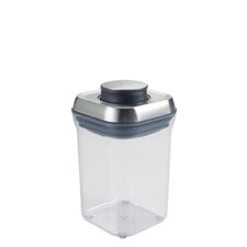 Stainless Steel 0.9-qt Small Square Pop Container