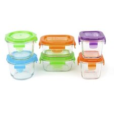 6 Piece Baby Starter Storage Container Set