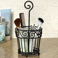 Scroll Hair and Beauty Accessory Caddy