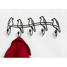 Tweet 5 Hook Rack