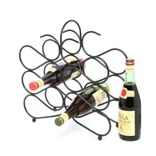 Scroll 12 Bottle Tabletop Wine Rack