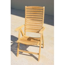Teakwood Folding Dining Arm Chair