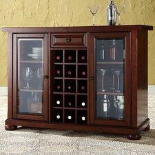 Alexandria Bar Cabinet with Wine Storage