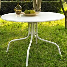 Griffith Metal Dining Table in White