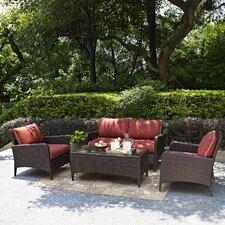 Kiawah 4 Piece Deep Seating Group with Cushions