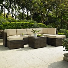 Queenstown 8 Piece Seating Group with Cushions
