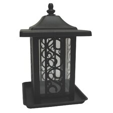 The Garden Gate Decorative Hopper Bird Feeder
