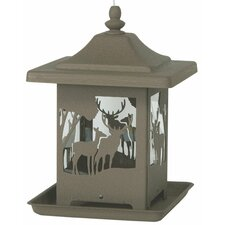 The Wilderness Decorative Hopper Bird Feeder