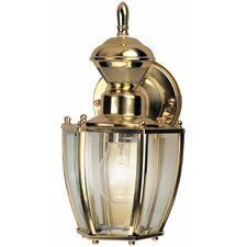 Traditional Coach 1 Light Outdoor Wall Lighting