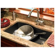 "Swanstone Classics 32"" x 21"" Double Bowl Kitchen Sink"