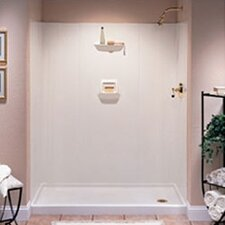 Everyday Essentials High Gloss Three Panel Shower Wall System