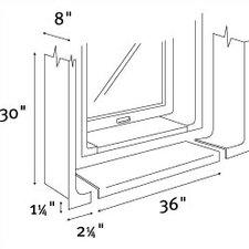 High Gloss Window Trim Kit