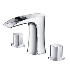 Fortore Double Handle Widespread Vanity Faucet