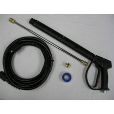 "Vented 3200 PSI Pressure Washing Gun Kit with 18"" Wand"