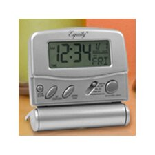Equity Travel Fold-up Alarm Clock