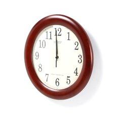 "Analog Bold Atomic 12.5"" Wall Clock"