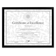 "Document Frame, 8""x10"", Black (Set of 2)"
