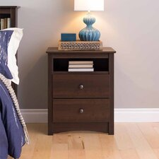 Fremont 2 Drawer Nightstand
