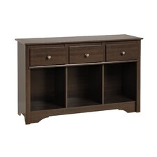 Living Room 3 Drawer Console Table