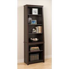 "Slant Back 80"" Standard Bookcase"