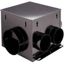 200 CFM Multi-Port In-Line Ventilator Fan