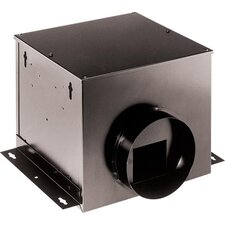 140 CFM Single-Port Remote In-Line Ventilator Fan
