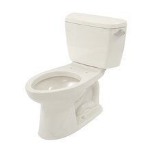 Drake ADA Compliant 1.6 GPF Elongated 2 Piece Toilet with Right Hand Trip Lever